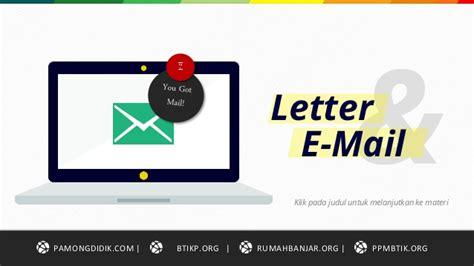 materi bahasa inggris application letter materi letter email bahasa inggris