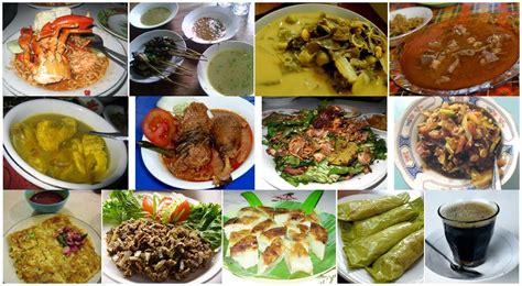 daftar nama makanan khas daerah indonesia lengkap materi