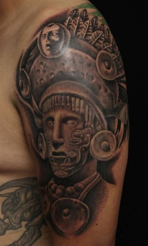 mayan tattoo warrior tattoos designs ideas and meaning tattoos for you