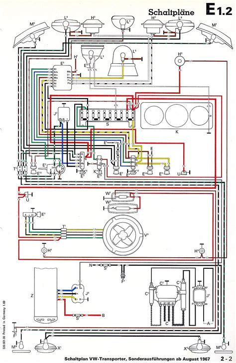 vw beetle wiring diagram of 1972 wiring diagram with