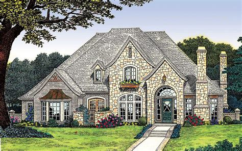 Country European House Plans by Classically With Options 48058fm 1st Floor