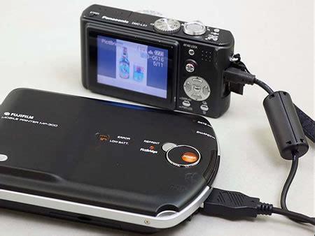 fuji film pivi mp 300 picbridge portable printer