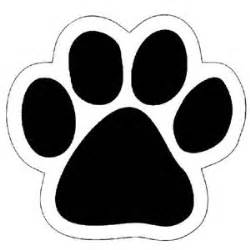 free puppy dog paw print stencil puppy paw print decals