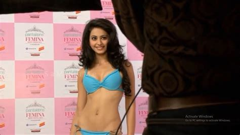 Rakul Preet Singh Hot Bikini Photoshoot Stills Movie
