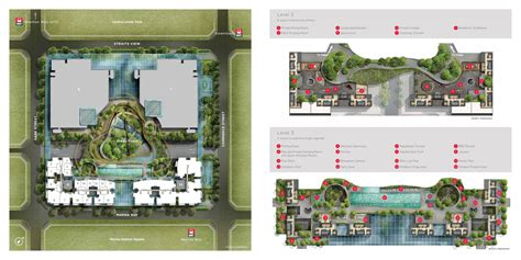 One Bloor Floor Plans site map marina one residences