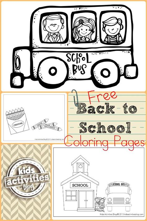 6 back to school tutorials and free printables the diy mommy free back to school activities for kindergarten free all