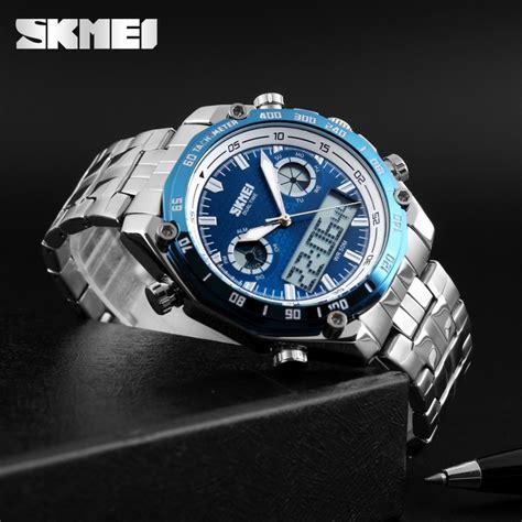 Jam Tangan Skmei Analog Digital Pria Ad1204 Termurah skmei jam tangan analog digital pria ad1204 black jakartanotebook