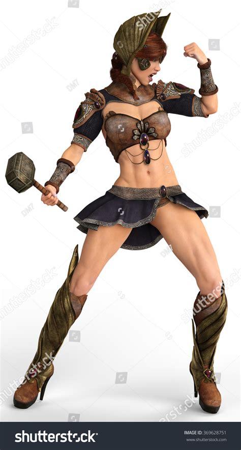 she warrior she warrior stand stock illustration 369628751 shutterstock