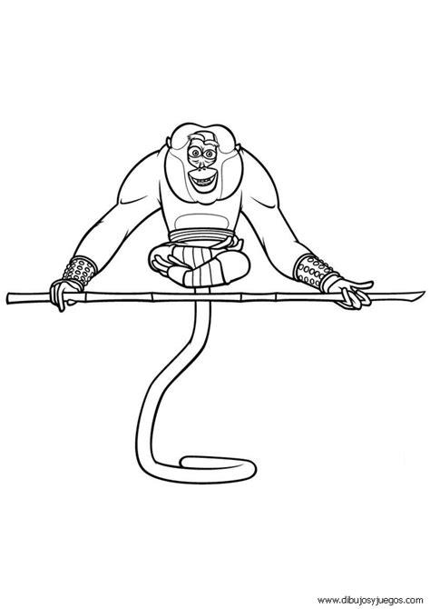 imagenes de kung fu panda bebe para colorear dibujo kung fu panda 023 dibujos y juegos para pintar y
