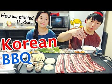 Home Korean Bbq Grill by Korean Bbq Grill At Home Mukbang