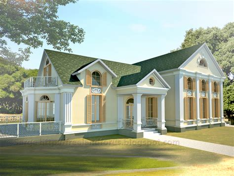 neoclassical home neoclassical house