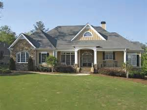 craftsman house plans with walkout basement home plans homepw25568 3 837 square 4 bedroom 3