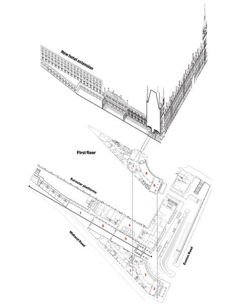 st pancras floor plan st pancras renaissance london hotel by rhwl and richard