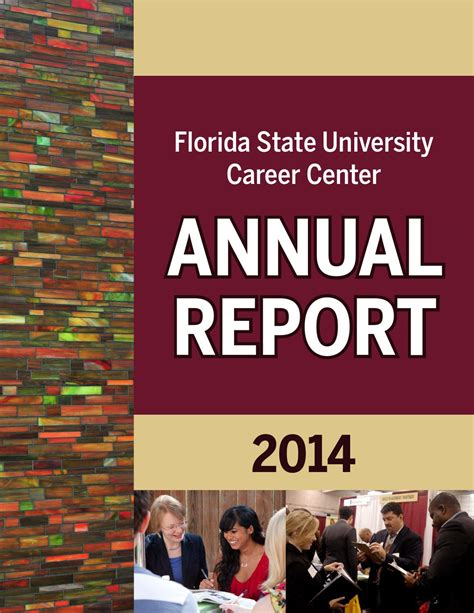 Of St Mba Career Center by Issuu Fsu Career Center Annual Report 2014 By Florida