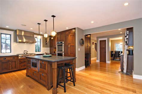 craftsman style flooring craftsman style home chicago modern kitchen chicago