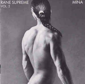 rane supreme mina rane supreme vol 2 cd album reissue discogs