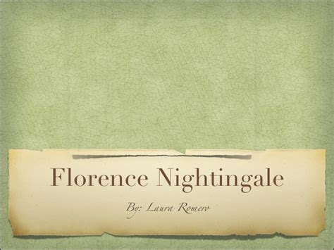 How To Make Florence Nightingale L by Florence Nightingale
