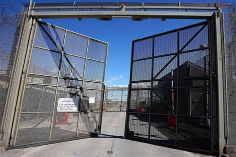 Prison Doors Open by Prison Staff Forced To Flee As Cell Doors Open In