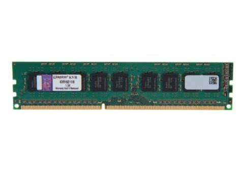 Memory Server 8gb Pc3 12800e Ddr3 1600mhz Ecc Unbuffered Udimm kingston technology valueram 8gb ddr3 1600mhz pc3 12800