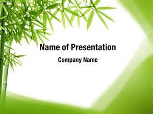 bamboo trees powerpoint templates bamboo trees