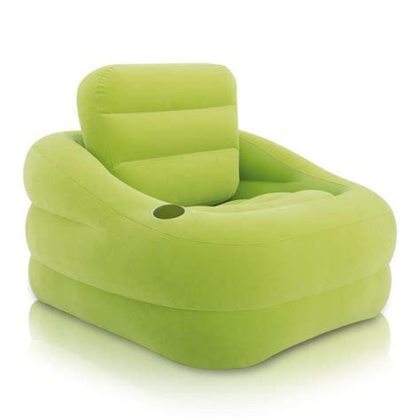poltrona letto gonfiabile poltrona gonfiabile verde intex