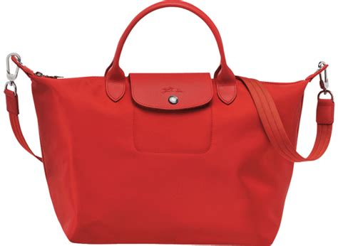 Colors That Go With Red by Longchamp Le Pliage Neo Bag Bragmybag