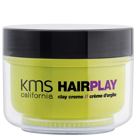 Free Hair To Play by Kms California Hairplay Clay Creme 125ml Free Delivery