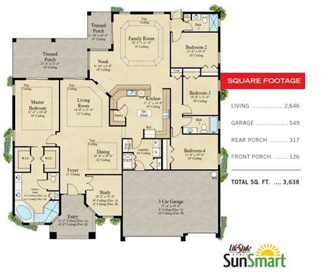 home builder floor plans lifestyle homes featured home the monterey i lifestyle