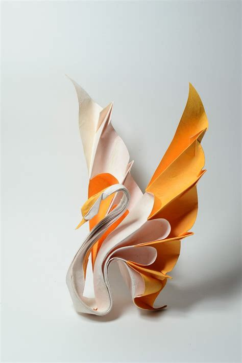 Beautiful Origami Models - 25 beautiful origami birds 21 is especially impressive
