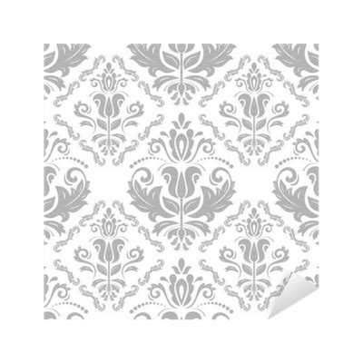 silver pattern png damask seamless ornament traditional silver pattern