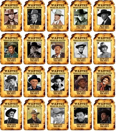 western film quizzes greatest western film actors by picture quiz by