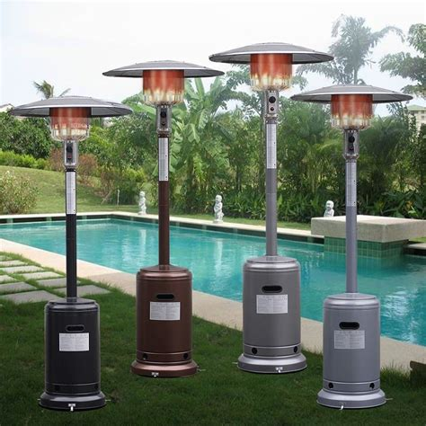 outdoor gas patio heater equipment outdoor patio heater propane standing lp gas