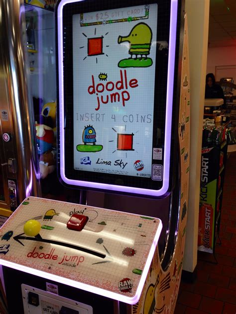 doodle jump arcade doodle jump the arcade