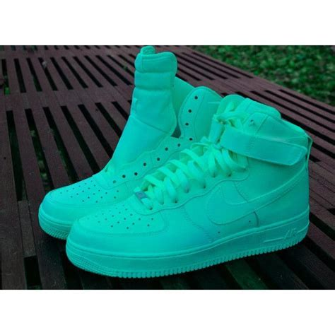 Nike Air 1 Etc paint nike air 1 customs in all blue