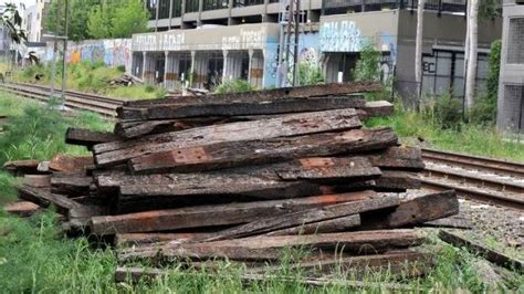 Railway Sleepers For Sale West by Warning On Using Railway Sleepers As Firewood The Northern Daily Leader