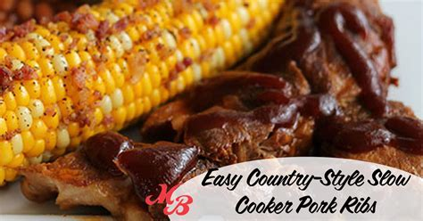 easy country style pork ribs recipe easy country style cooker pork ribs market basket