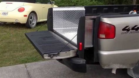 truck bed lift custom wireless truck bed extension and lift gate part 2