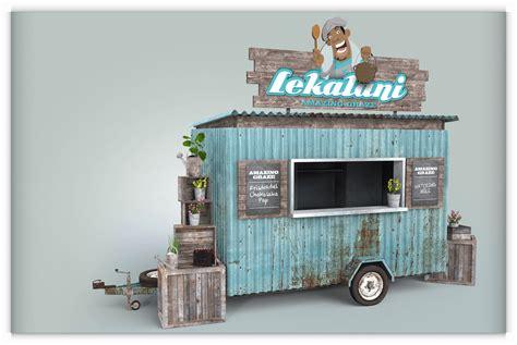 food truck design concept food trailer design concept layout barras pinterest
