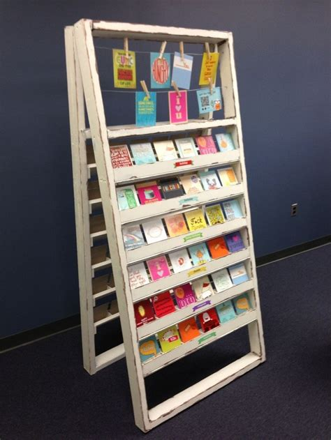 Postcard Display Rack by 25 Best Ideas About Greeting Cards Display On
