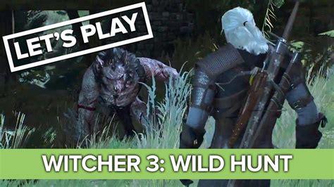 wild hunt witcher 3 werewolf the witcher 3 werewolf vs cowardly witcher let s hunt