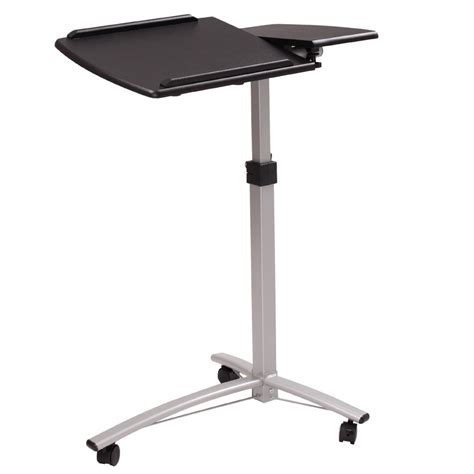 Adjustable Rolling Laptop Desk Height Adjustable Rolling Laptop Desk Hospital Table Cart Bed Stand Modern Ebay