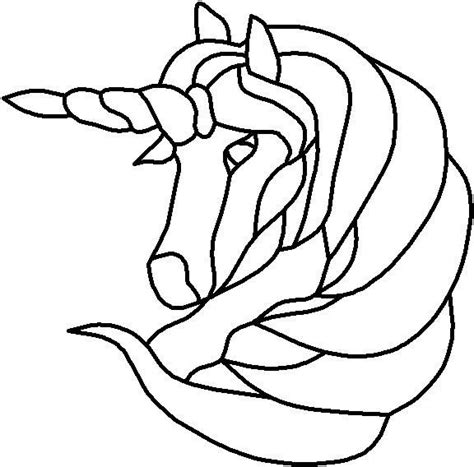 Unicorn Outline by Unicorn Template Pictures To Pin On Pinsdaddy