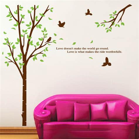 tree branch wall sticker tree branch and birds wall sticker wallstickerscool