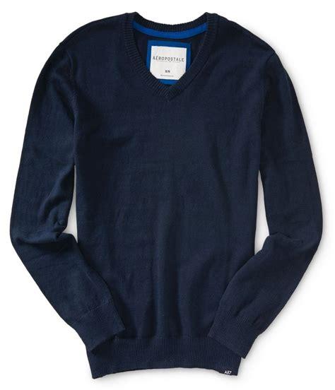 Aeropostale Sweater aeropostale mens solid pullover sweater ebay