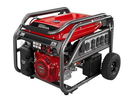 Honda Powered Generator Honda Powered 7000 8750 Watt Portable Gas Generator With