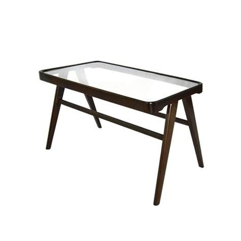 Glass Top Side Table by Italian Glass Top Side Table For Sale At 1stdibs