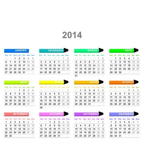 K Calendario 2014 Jornal Ponto Calend 225 Rios Coloridos 2014