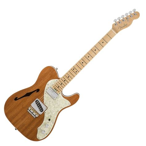 Gitar Fender Telecaster Paketan fender 2017 limited edition american elite mahogany tele thinline at gear4music