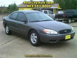 2005 ford taurus se city auto sales tx