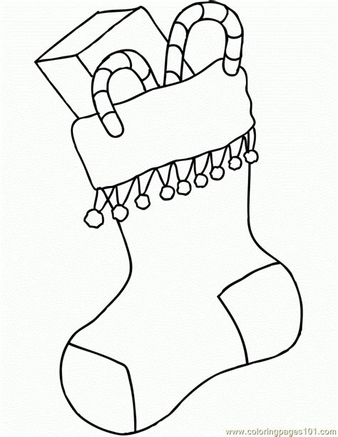 coloring pages of christmas stocking free coloring pages of puppy in a stocking